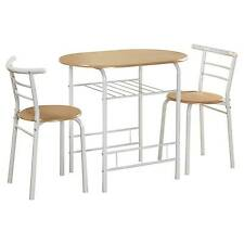 Oval  sc 1 st  eBay & Wooden Bistro Table Dining Furniture Sets | eBay