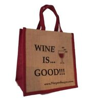 The Good Bag Company Jute Shoppers **NEW**