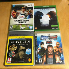 Region Variant Games - Wii, PS3, Xbox One - Halo 5, Heavy Rain, Smackdown vs Raw