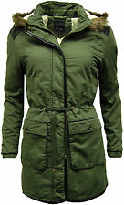 Zip Polyester Parkas Outdoor Coats & Jackets for Women