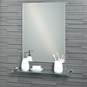 Fairmont - Frameless Bathroom Mirror - Bevelled Edge - (60 x 45cm or 70 x 50cm)