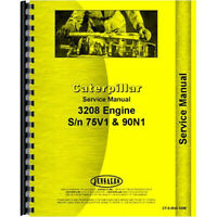 Service Manual Engine Only For White 4-210 W Fits Caterpillar 3208 Diesel Engine