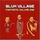 Slum Village Fantastic Vol. 1 CD