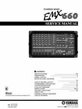 Yamaha emx660 Mixer Service Manual und Reparatur Anleitung