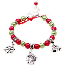 Beads Charm Pendant Christmas Gifts Jewelry For Men Women Bracelets