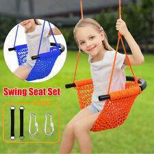 Kids Swing Swing Seat for Kids with Adjustable Ropes Heavy Duty Rope Swing Set