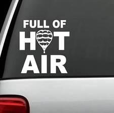 B1130 Full Of Hot Air Balloon Decal Sticker Car Truck SUV Van LAPTOP ZEPPELIN