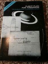 1966 Douglas Aircraft Co Book ~ FLIGHT PLAN FOR TOMORROW ~ Vintage Illustrations
