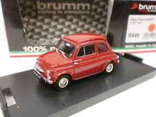 BRUMM 1/43 - STEYR PUCH 650 TR ROSSO 1964 - R 449