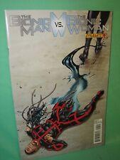 Bionic Man vs Bionic Woman #4 Jonathan Lau 1st Print Comic Dynamite Comics VF