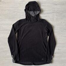 Mountain hard wear fleece hood Shirt Womens Size Medium