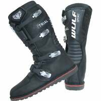 Wulfsport Adults Mens HL Trials Motor Bike Motorcycle Boots