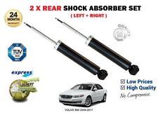 FOR VOLVO S80  2006-2017 2 x REAR LEFT + RIGHT SHOCK SHOCKER ABSORBER SET