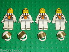 Personnages LEGO MARS Minifigs ref 973px547 / Set 7690 MB-01 Eagle Command Base