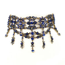 Amrita Singh Choker Collar Necklace Austrian Crystal  Victorian coll $150 NEW