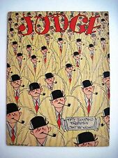 "Oct.15,1927 ""Judge"" Magazine Has A Great Cover Page w/Cartoon Men,Hat & Pipes *"