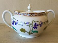 Beautiful Limoges HAVILAND covered sugar bowl IMPERATRICE EUGENIE MSRP $292