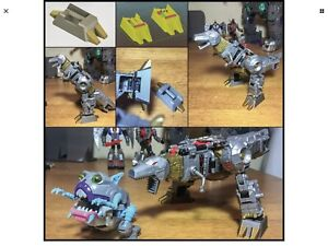 Transformers Grimlock ankle and foot upgrades Power of the Primes Dinobots