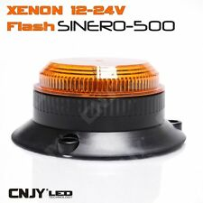 MINI SINERO-500 FLASH GYROPHARE ORANGE DE MARQUAGE XENON AUTO CAMION 12/24V