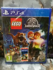 LEGO Jurassic World Adventure Sony PlayStation 4 game PS4, Brand NEW / sealed En