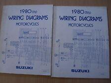 Wiring diagrams Book 1981 SUZUKI DR 400 GS 550 750 850 1000 1100 SP 400 TS 250