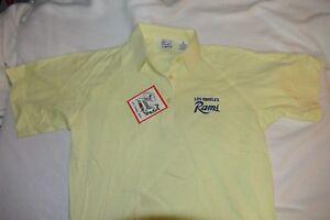 LA Rams Vintage Polo Shirt 80s 90s Womens size large