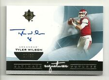 TYLER WILSON 2013 Ultimate Collection Signature Futures Autograph Serial # 12/30