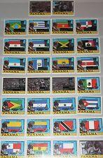 PANAMA 1980 1335-94 I-IV Flags  Bolivar Olympics Moscow ovp silver Gold MNH