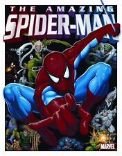 Vintage Replica Tin Metal Sign Comic Spider-man Marvel book Super Hero Logo 1335