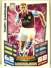 Match Attax 2012/13 Premier League - #030 Gary Gardner - Aston Villa