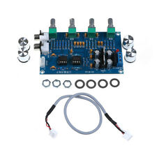 1Pcs NE5532 stereo pre-amp preamplifier tone board audio amplifier board 5wEP