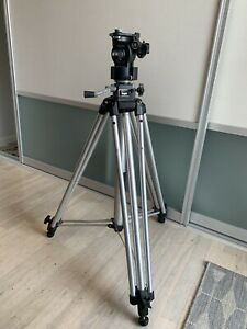 Manfrotto Bogen 3046 Tripod With 3063 Head. No Plate