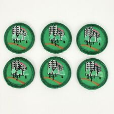 6 Girl Scout Badge Patch Juniors Outdoors in the City Patches Skyline Trees Kite