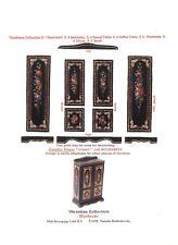 1/2 scale Natasha Beshenkovsky's Mini Decoupage- Victorian style Wardrobe