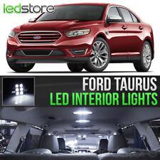 2010-2018 Ford Taurus White Interior LED Lights Kit Package
