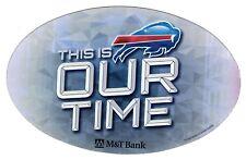 "2014 Buffalo Bills Auto-Truck--Van-Refrigerator Magnet ""OUR TIME"""