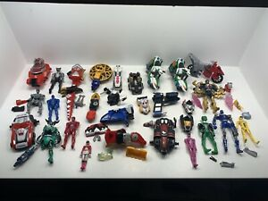 Power Rangers Large Bundle of Figures Weapons Accessories Joblot SPARES INCOMPLE