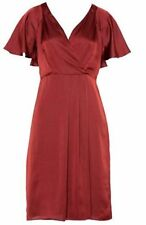 Jacqui E Polyester V-Neck Dresses for Women