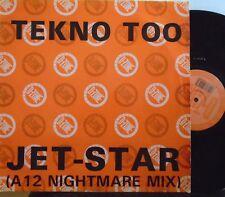 "TEKNO trop ~ Jet Star remix ~ 12"" SINGLE PS"