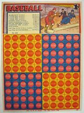 Child's Punch Card Game / BASEBALL 1¢