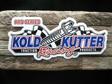 The Original Kold Kutter Screws Racing sticker!  Only £1.25 with FREE POSTAGE UK