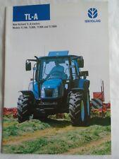 New Holland TL-A Tractors brochure Dec 2004
