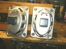 """ISOPHON  4 OHM  ALNICO 7 X 10 """"  RECTANGULAR  SPEAKERS   1960'S ERA  GERMANY"""