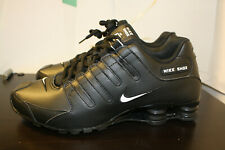 Mens Nike Shox NZ Premium Sneakers New, Black / White (501524-091) 🔥8.5