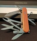 Victorinox Schweizermesser Swiss Army Knife  Damascus Limited 2018 Deluxe Tinker
