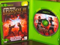 Star Wars: Episode III Revenge of The Sith - XBOX Game Complete!