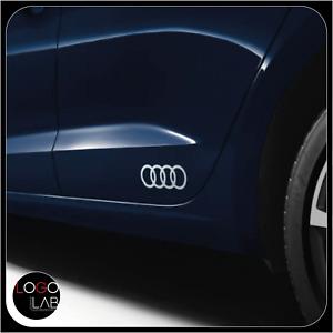 ADESIVI AUDI per portiera posteriore minigonna 2 PEZZI a1 a3 a4 a5 a6 a7 q3 q5