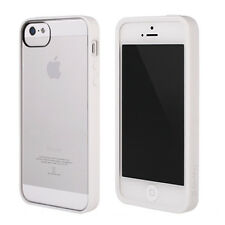 Genuine Griffin scanalatura Case Cover per Apple iPhone 5 / 5S-Bianco / Cancella Slim Fit