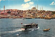 BR6303 Istanbul The Golden Horn and the mosque   turkey