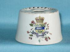Fenton china Hat Pin Holder - NOVA SCOTIA (CANADA) crest